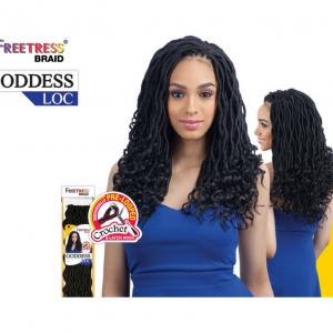 Freetress Synthetic Hair Crochet Braid Medium Box Braids 20