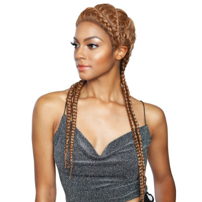 Isis Red Carpet Synthetic Ghana Braid Lace Wig - RCBG02 ...